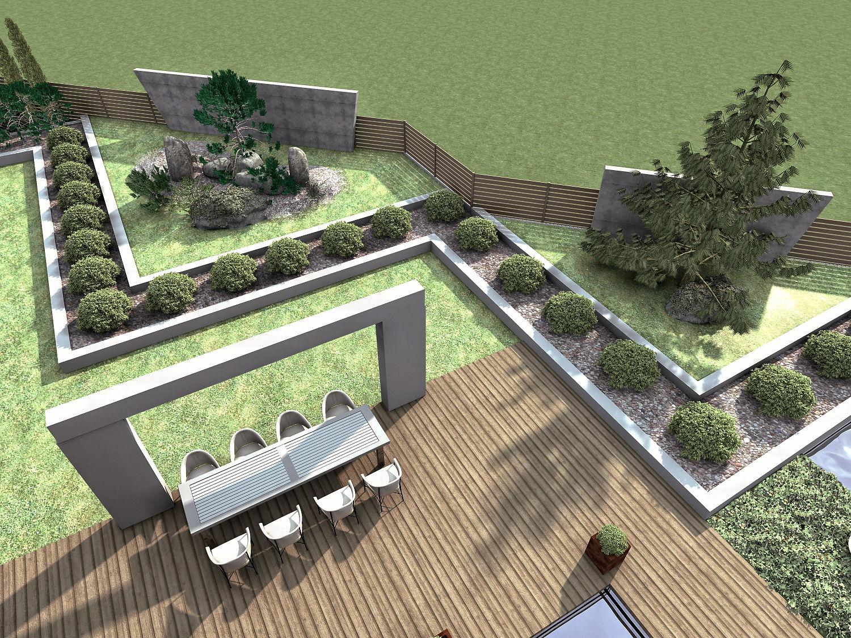 Ogród w Rybniku