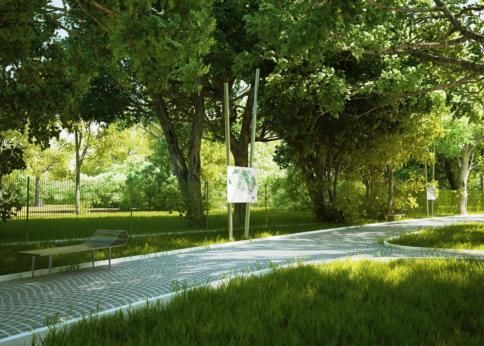 Park w Jedlinie