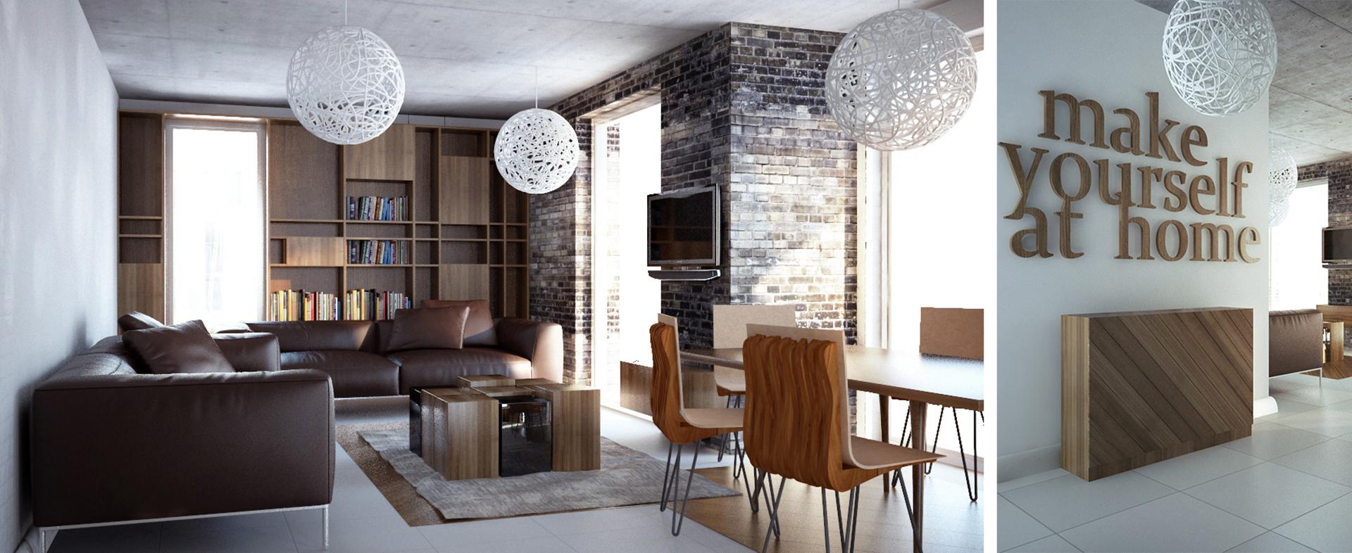 Projektowanie salonu