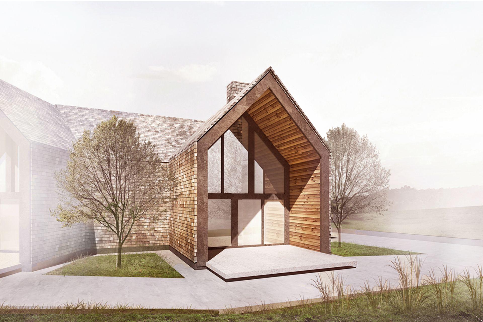 Projekt domu Bielsko-Biała Architektura Genius Loci Architekci