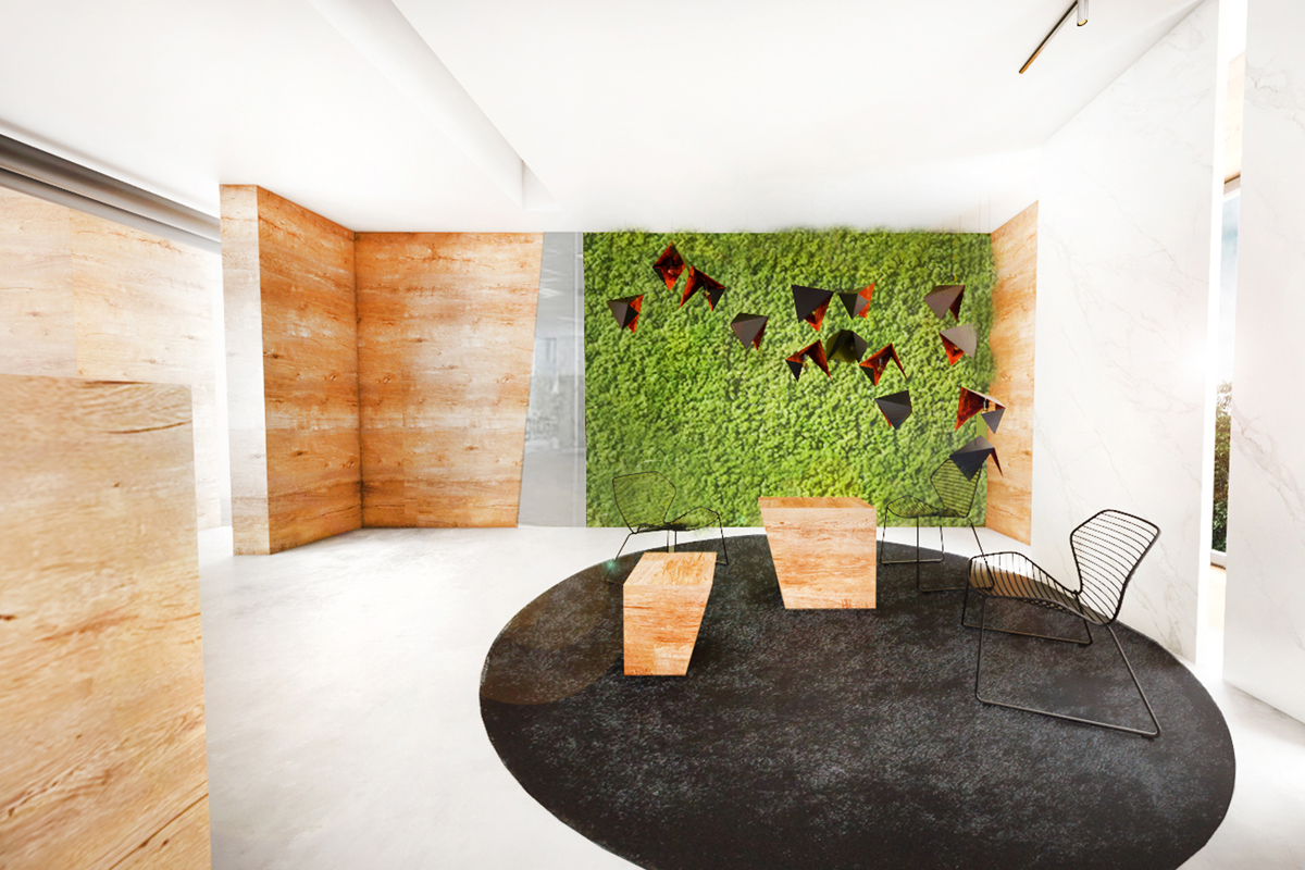 Projekt biura Wnętrza Bielsko Biała Genius Loci Architekci