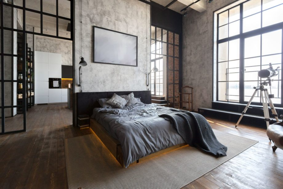Luxury,Studio,Apartment,With,A,Free,Layout,In,A,Loft