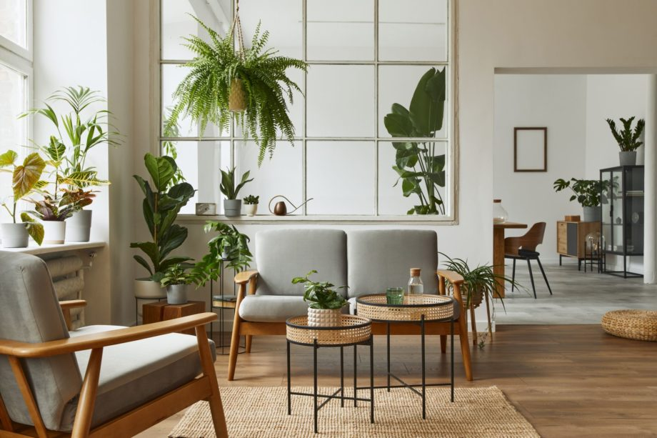 Modern,Scandinavian,Interior,Of,Living,Room,With,Design,Grey,Sofa,